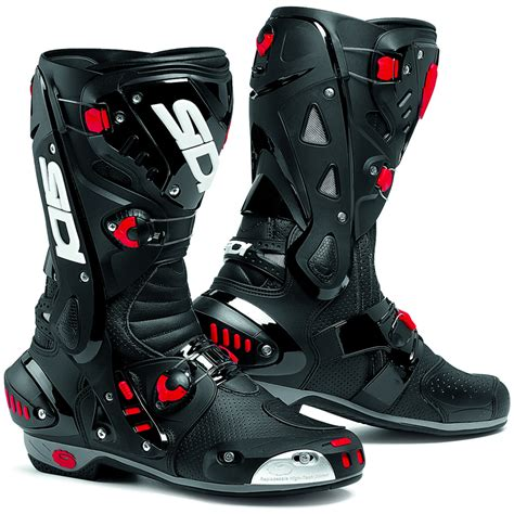 road motorbike boots sidi vortice air vented race track sports bike motorcycle