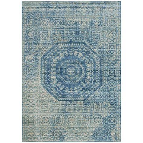 blue traditional rugs safavieh valencia blue traditional rug 4 x 6 val205r 4