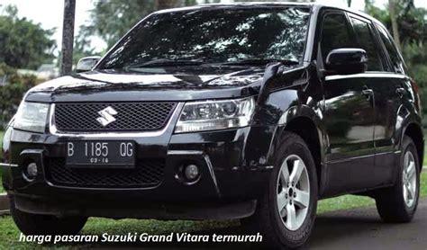 Jual Suzuki Vitara Bekas harga mobil suzuki grand vitara dan spesifikasinya pasar