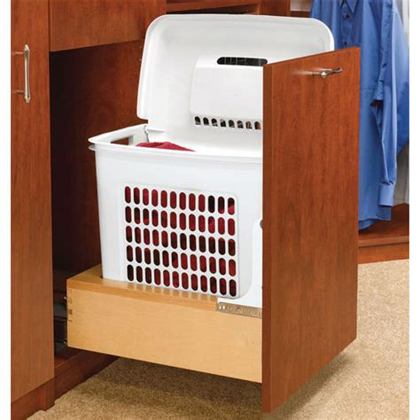 Laundry Pull Out Cabinet by Rev A Shelf Rev A Motion Quot Pull Out Laundry Her With