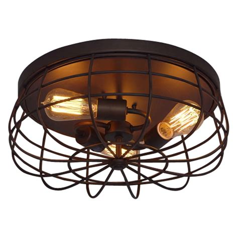 millennium lighting neo industrial rubbed bronze three