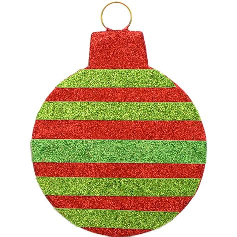 striped christmas ornament decoration 8 5 quot xy503049