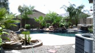 Arizona Backyard Landscaping Ideas Arizona Backyard Landscape Design With Pool Yelp