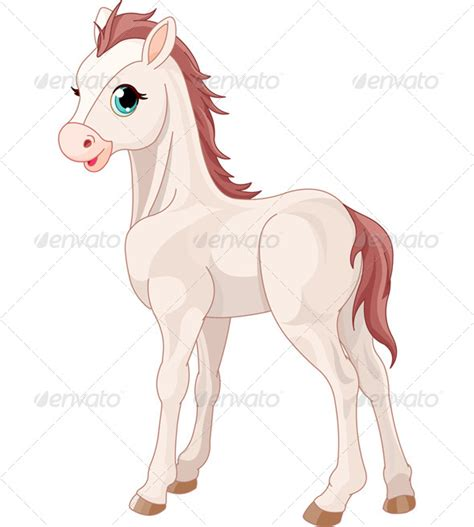 cute cartoon baby pony cute horse cartoon 187 dondrup com