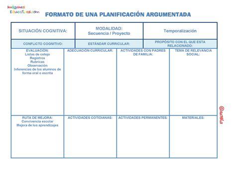 preguntas guias para la planeacion argumentada formato de una planificaci 211 n argumentada p 225 gina 01