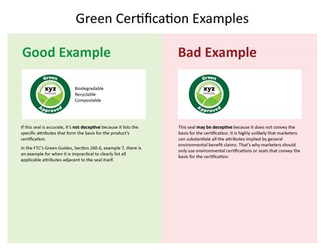 Press Release Warning Letter Ftc Sends Warning Letters About Green Certification Seals Federal Trade Commission