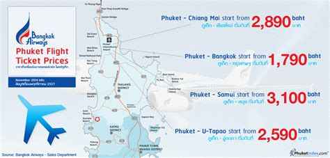 Phuket Stat: Bangkok Airways Phuket Flight Ticket Prices ...