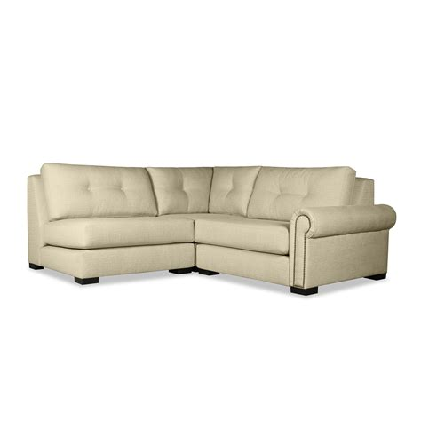 chelsea sectional floor l chelsea buttoned modular right arm l shape mini sectional