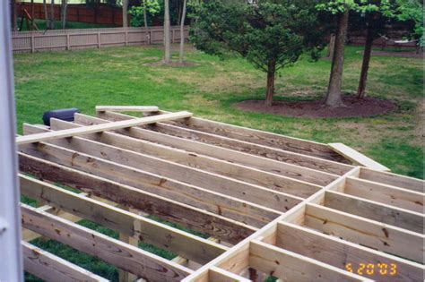 Patio Construction Guide by Deck Framing Techniques Pictures To Pin On