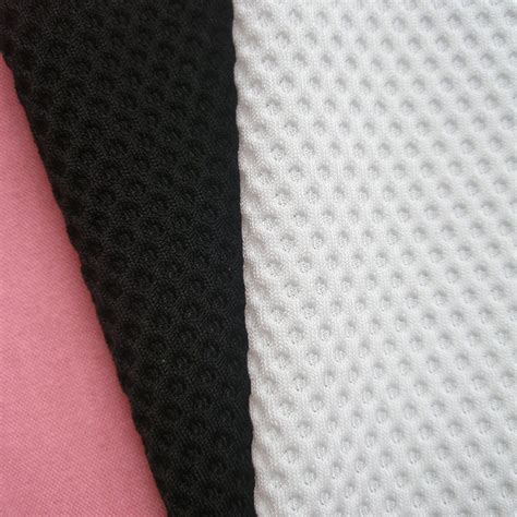 White Soft Strech 4meters 3d high quality white stretch mesh fabric