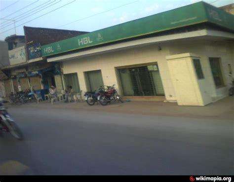 habib bank limited branches habib bank pvt ltd m m no 3 jhelum branch jhelum
