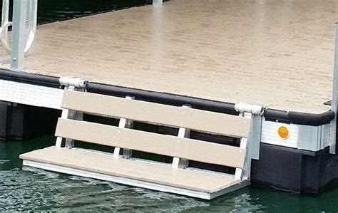 boat dock benches dock bench that fold up when not in use so you can sit