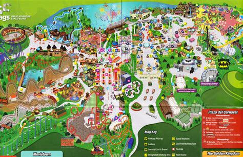map of six flags six flags new jersey six flags great adventure new jersey