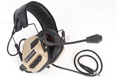 earmor tactical hearing protection ear buy airsoft accessories from redwolf