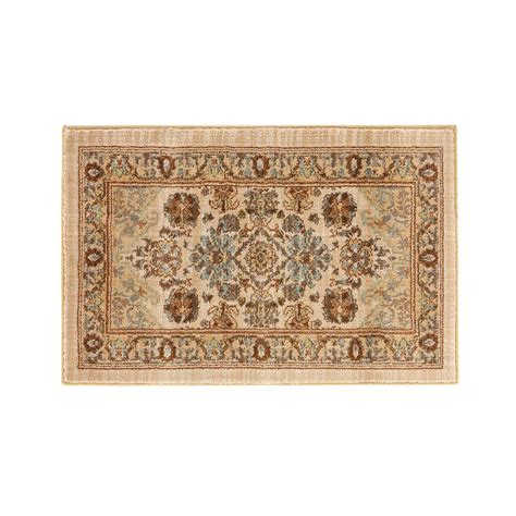 home accent rug collection home decorators collection charisma butter pecan 2 ft x 3 ft accent rug 406325 the home depot