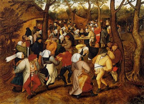 the bruegels lives and file pieter brueghel the younger peasant wedding dance 1623 jpg wikimedia commons