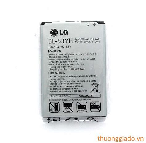 Lg G3 Bl 53yh Battery pin lg g3 f400 d855 lg bl 53yh original battery
