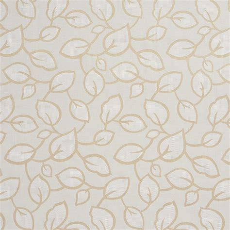 leaf upholstery fabric tan and ivory large scale leaves upholstery fabric by the yard