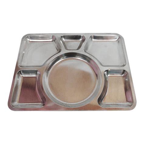 harga piring makan unik food tray stainless steel id priceaz