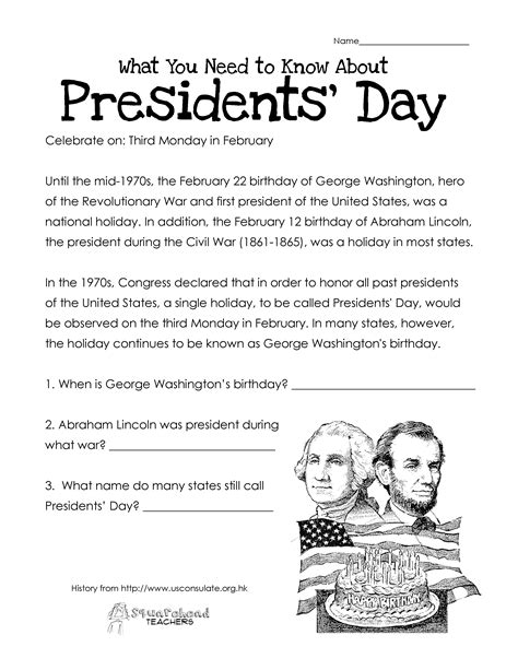 president biography lesson plan presidents day free worksheet updated squarehead teachers