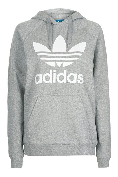 Trefoil Hoodie trefoil hoodie by adidas originals topshop