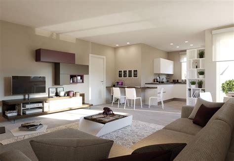 soggiorno cucina open space idee  design  la casa