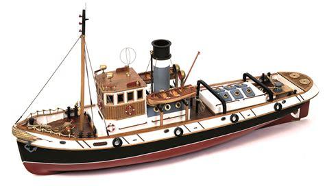 model boat kits occre ulises tug 1 30 scale model rc wood metal boat kit