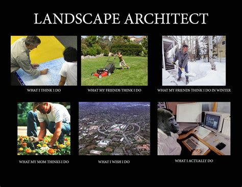 Landscaping Memes - image 257311 what people think i do what i really