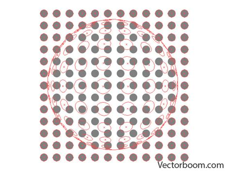 illustrator pattern array illustrator 3d how to allocate flat objects on a sphere