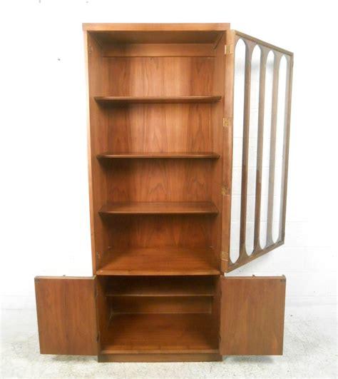 modern display cabinet mid century modern broyhill brasilia curio display cabinet