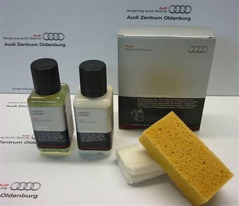 Audi Pflegemittel by Original Audi Lederpflege Lederreiniger Im Set Neu