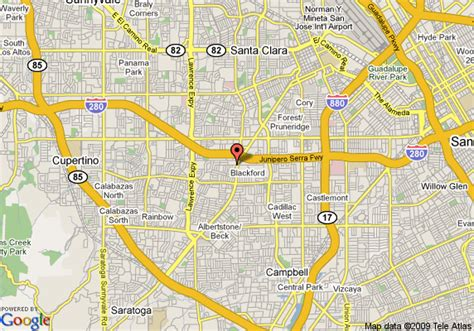 san jose south map map of oakwood san jose south san jose
