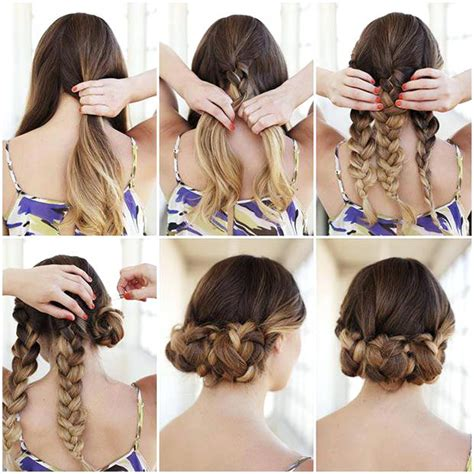 Easy To Do Hairstyles For Hair by Easy To Do Hair Styles Hair Color And Styles For Medium
