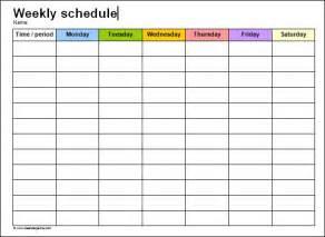 Printable Blank Staff Rotas   Calendar Template 2016