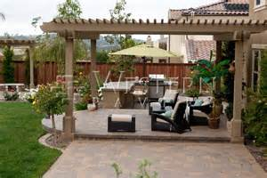Patio In San Diego Pavers Raised And Sunken Patio Gallery By