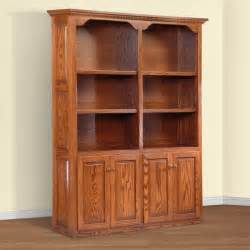 Wooden Bookshelves With Doors Bookcases Ideas Wood Bookcases With Doors Design