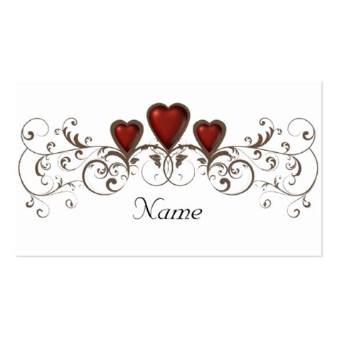 place table number name cards remove quot name quot sided