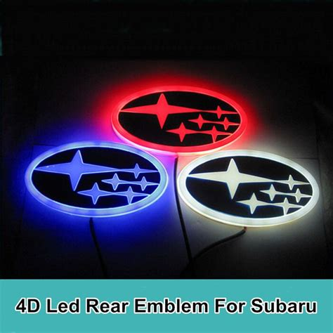 subaru wrc logo blue subaru 4d led emblem car logos subaru and cars