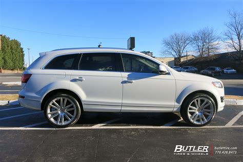 audi q7 tyres audi q7 with 22in tsw gatsby wheels exclusively from