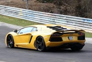 Lamborghini Aventador Lp800 4 Sv Spyshots 2015 Lamborghini Aventador Sv Autoevolution