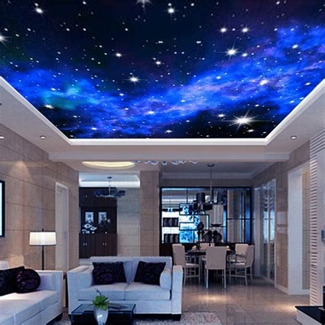 3d Wallpaper Ceiling 13314964 1 interior ceiling 3d way wall covering custom photo mural wallpaper living room