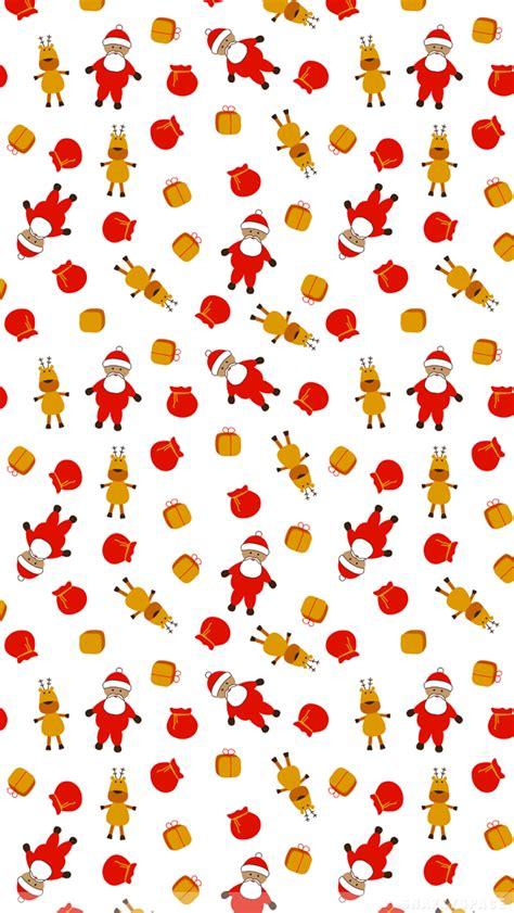 deer pattern iphone wallpaper santa and reindeer iphone wallpaper