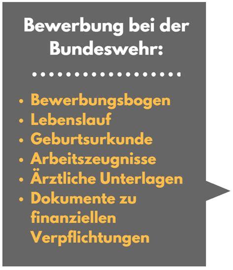 Bewerbung Bundeswehr Offizier Bewerbung Bundeswehr Wichtige Tipps Und Hilfen