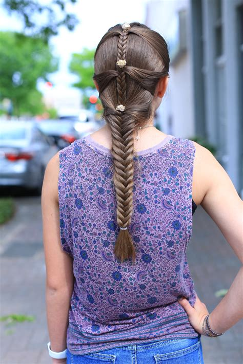 cute girl hairstyles mermaid braid fishtail mermaid braid cute girls hairstyles
