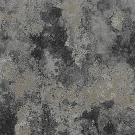Walls Republic Concrete Cloudy Abstract Metallic Silver