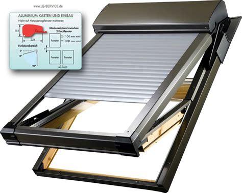 dachfenster mit rolladen rolladen f 252 r velux dachfenster alternativen