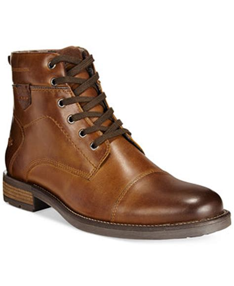 macys mens timberland boots alfani cap toe boots created for macy s all s