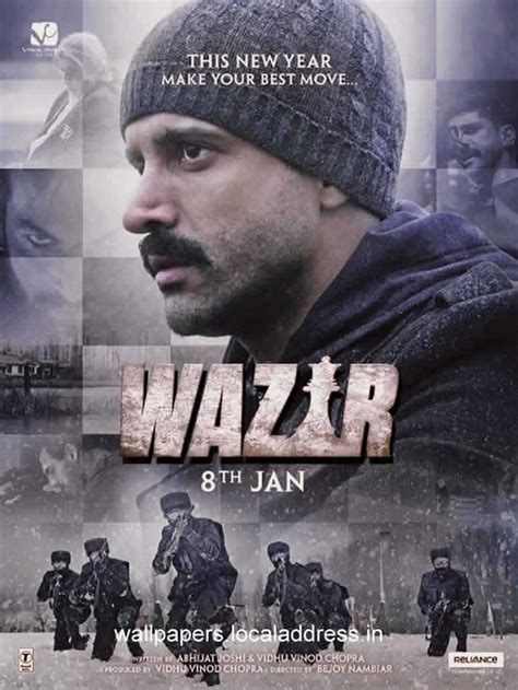 biography of hindi movie wazir wazir movie review