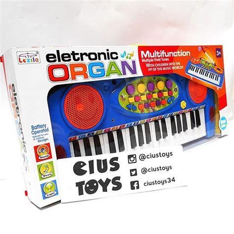 Electronic Keyboard Anak jual beli mainan anak piano electronic organ biru dan