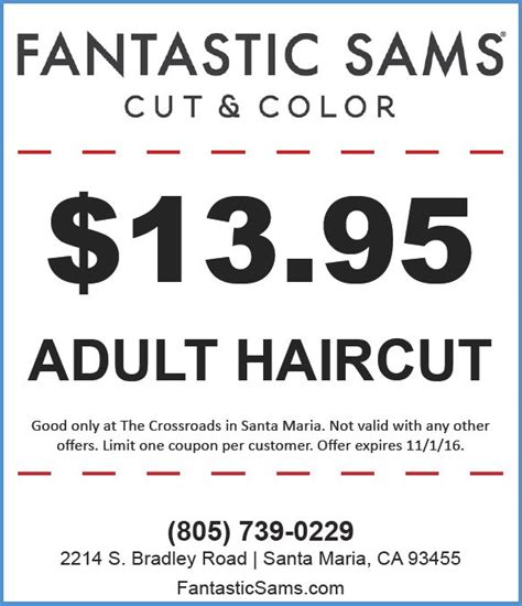 haircut coupons 2016 october printable coupons 2016